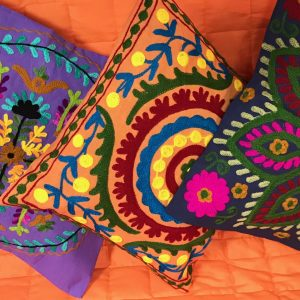 Индийски възглавници и покривки